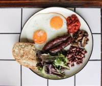 <p>London Breakfast</p>